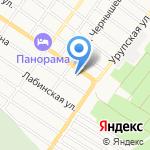 Армавир-Кубань-Лада на карте Армавира