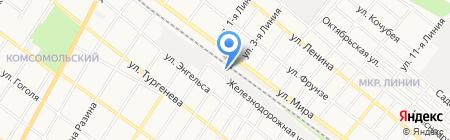Ирбис на карте Армавира