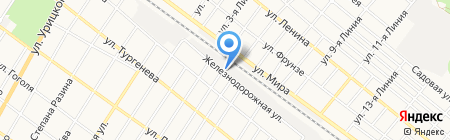 Ошер на карте Армавира