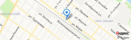 Гаражный кооператив №26 на карте Армавира