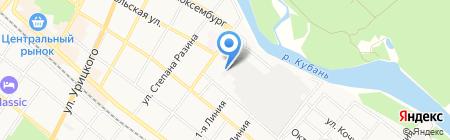 81-й Бронетанковый ремонтный завод на карте Армавира