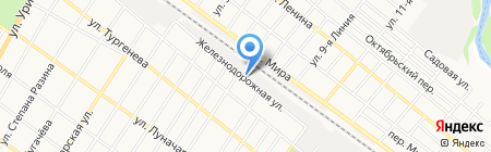 АЛАН ТРАНС на карте Армавира