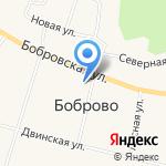 Бобровский сельский дом культуры на карте Архангельска