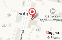 Схема проезда до компании Магазин товаров для дома в Боброво