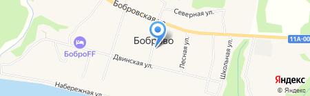 Магазин товаров для дома на карте Боброво