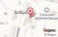 Схема проезда до компании Островок в Боброво