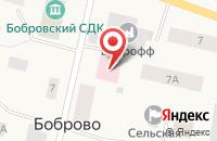 Схема проезда до компании Врачебная амбулатория в Боброво