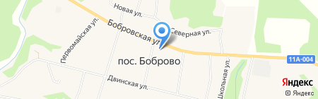 Старая Слобода на карте Боброво