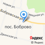 Старая Слобода на карте Архангельска