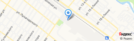 Перерабатывающее предприятие на карте Армавира