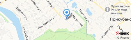 Лесок на карте Старой Станицы
