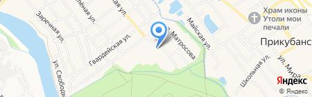 Профессиональное училище №58 на карте Старой Станицы