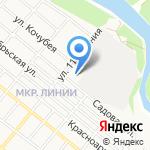 Армавирский строительный комбинат на карте Армавира