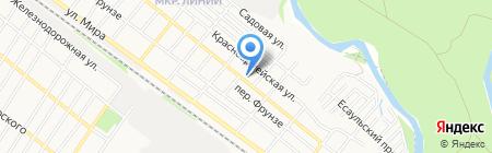 Твоя линия на карте Армавира