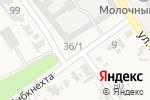 Схема проезда до компании Продуктовый магазин в Советской