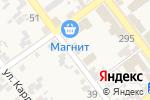 Схема проезда до компании Магазин хозтоваров в Советской