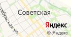 Аква-Домбай на карте