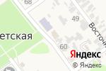 Схема проезда до компании Пожарная часть №141 в Советской