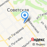 Детская музыкальная школа г. Новокубанска на карте Армавира
