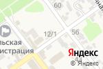 Схема проезда до компании Агрокомплекс в Советской