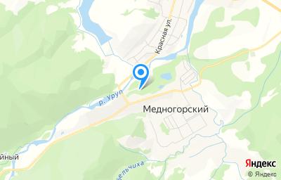 Местоположение на карте пункта техосмотра по адресу Респ Карачаево-Черкесская, ст-ца Преградная