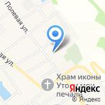 Средняя общеобразовательная школа №8 им. А.Я. Тимова на карте Армавира