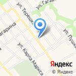 Комплексный центр социального обслуживания населения по Новокубанскому району на карте Армавира