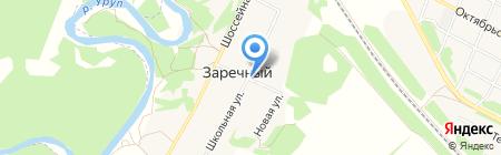 Почтовое отделение пос. Заречного на карте Армавира