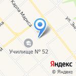 Средняя общеобразовательная школа №9 станицы Советской на карте Армавира