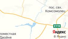 Отели города Госпитомник на карте