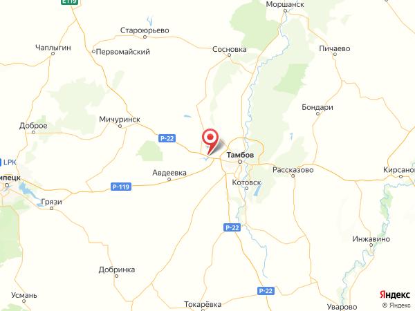 посёлок Госпитомник на карте