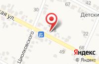 Схема проезда до компании Байкал в Вольном