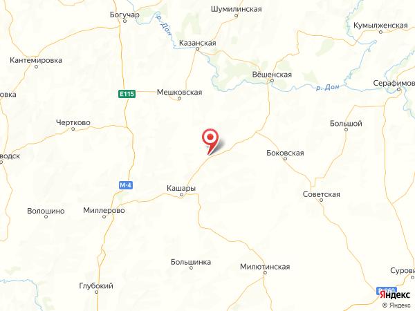 слобода Поповка на карте
