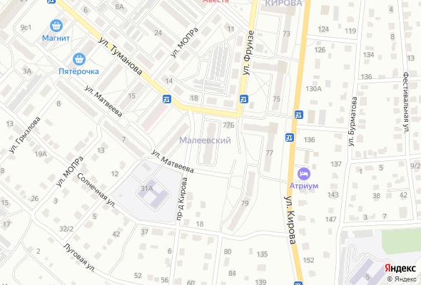 жилой комплекс Малеевский