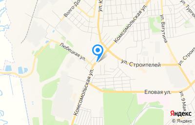 Местоположение на карте пункта техосмотра по адресу Владимирская обл, г Ковров, ул Комсомольская, д 129