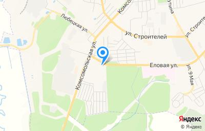 Местоположение на карте пункта техосмотра по адресу Владимирская обл, г Ковров, ул Еловая, д 1Г