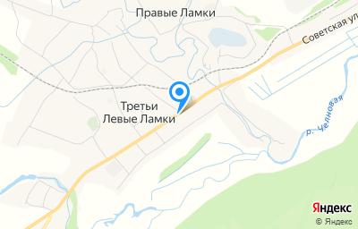 Местоположение на карте пункта техосмотра по адресу Тамбовская обл, Сосновский р-н, с Третьи Левые Ламки, ул Интернациональная, д 46А