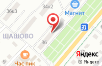 Схема проезда до компании Энергосервис в Коврове