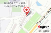 Схема проезда до компании Мой Город - Ковров в Коврове