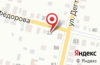 Схема проезда до компании Рубин в Рождественском