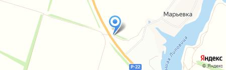 Кристина на карте Тамбова