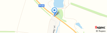 Кафе на Федеральной трассе М6 453 км на карте Тамбова