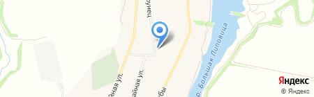 Продовольственный магазин на ул. Тамары Дерунец на карте Стрельцов
