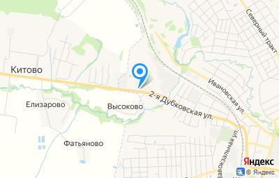 Местоположение на карте пункта техосмотра по адресу Ивановская обл, г Шуя, ул Дубковская 2-я, д 76