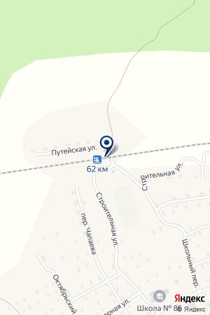 СОЛГИНСКИЙ на карте Вельска