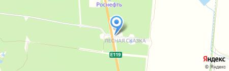 Меридиан на карте Тамбова