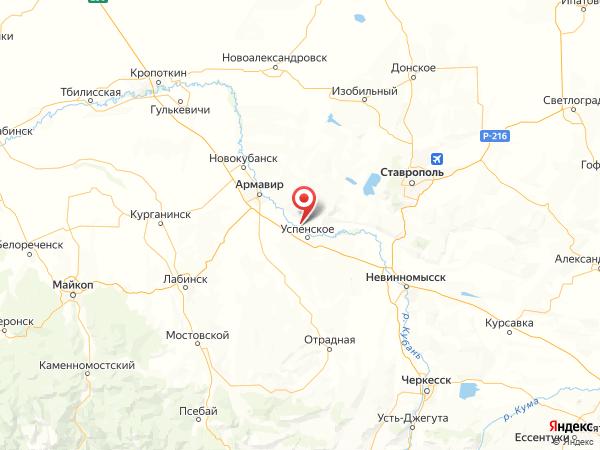 хутор Западный на карте