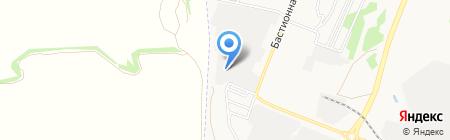 Каскад-Сити на карте Тамбова