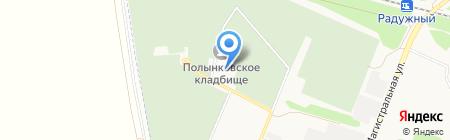 Храм новомучеников и исповедников Российских на карте Тамбова