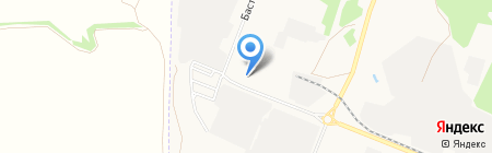 Магазин лакокрасочных материалов на карте Тамбова